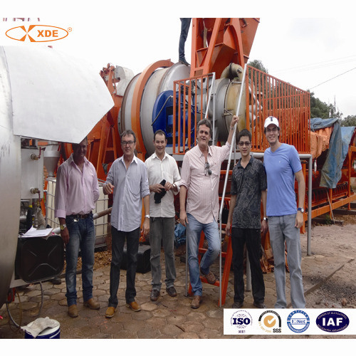Mini Mobile Asphalt Plant Batching Equipment 10 to 80 Tph for Road Construction Machinery
