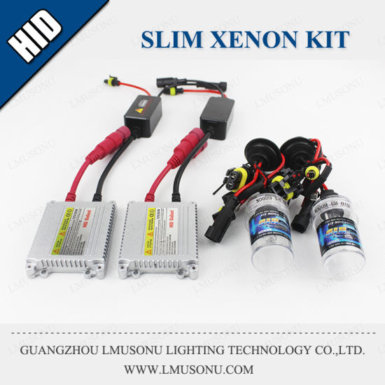 1063 Slim HID Kit Luces Xenon H1 H3 H7 H11 AC 35W