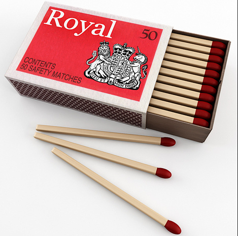 Natural Wooden Sticks Red Head Wooden Safety Matches pictures & photos