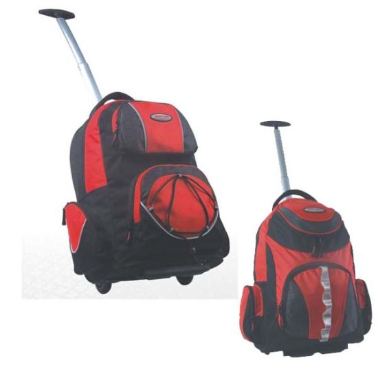 Wheeled Rolling Travel Backpack for Outdoor