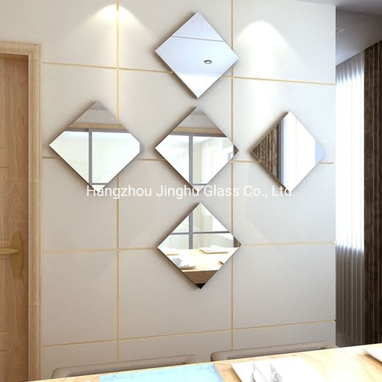 China Self Adhesive Mirror Tiles 3d, What Adhesive To Use For Mirror Tiles