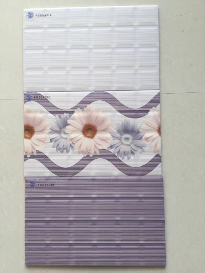3D Inkjet Printing Sanitary Ware Ceramic Bathroom Wall Tiles pictures & photos