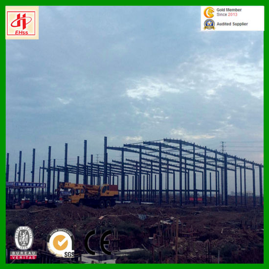 Hot Sale and Economic Steel Structure Warehouse with SGS Standard