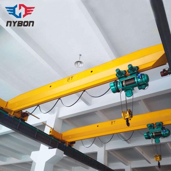 1-20 Ton Single Beam Overhead Crane Used for Warehouse