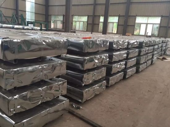 Corrugated Galvanized Zinc Roof Sheets /Corrugated Sheets Roofing Corrugated Galvanized Tin/ Galvalume Roofing Sheets Weight pictures & photos