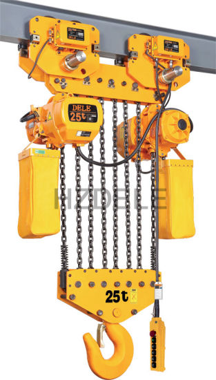 3ton Electric Chain Hoist with Trolley pictures & photos