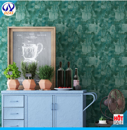 Industrial Nostalgic Retro Non Woven Fine Pressure Wallpaper Plain Background Wallpaper Bedroom Living Room Shop Cafe Tv Wall