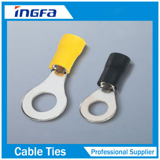 Various Sizes Insulated Ring Terminal for Electrical Cables pictures & photos
