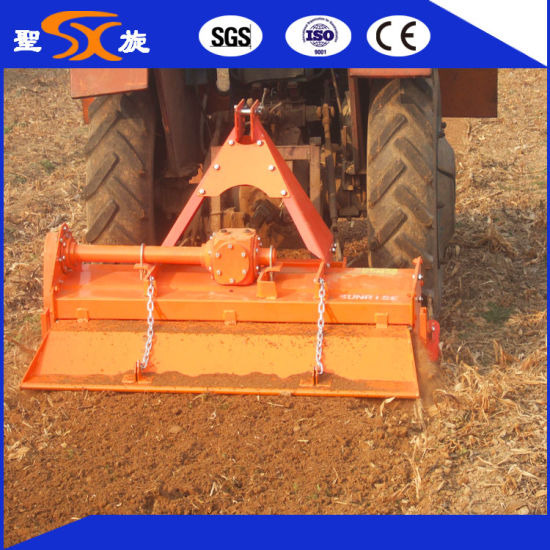 1.5m Wide Side Gear Transmission Rotary Cultivator Rotary Tiller for Sale pictures & photos