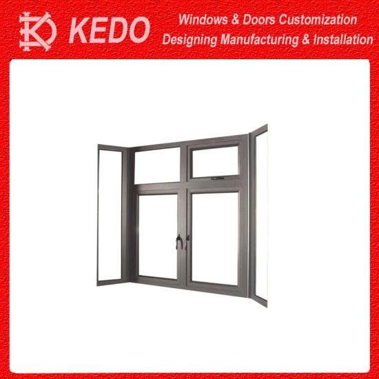 Laminated Glass Aluminium Alloy Slide and Swing Door for Bathroom pictures & photos