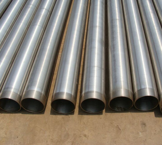 SS304 Stainless Steel Well Casing Pipe with Btc Stc Threads pictures & photos