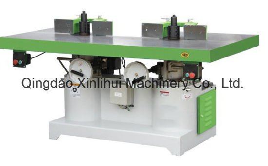 Heavy Duty Woodworking Dual Axis Shaper Special Designed Vertical Spindle  Moulder/ Two Shafts Moulder /Biax Wood Moulder