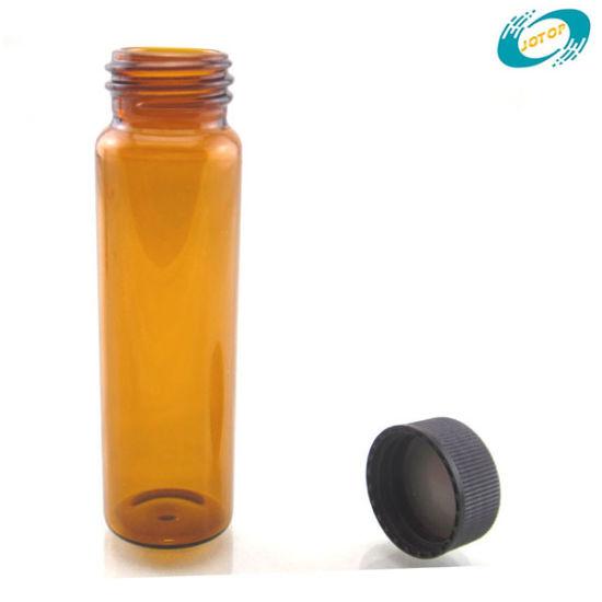 40ml Amber Environmental Protection Agency Glass Vials