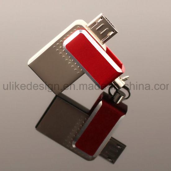 Swivel/ Twist Mini OTG USB Flash Drive (UL-OTG003)