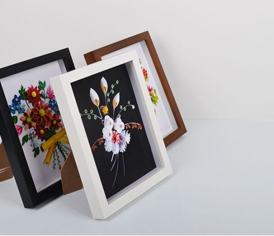 China 3D Wood Wholesale Deep Shadow Box Picture Frame - China Deep ...