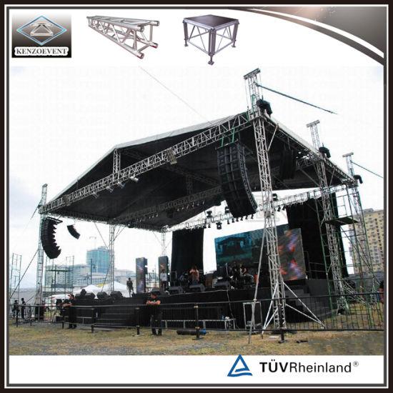 Outdoor Aluminum Truss Roof System Concert Stage Truss