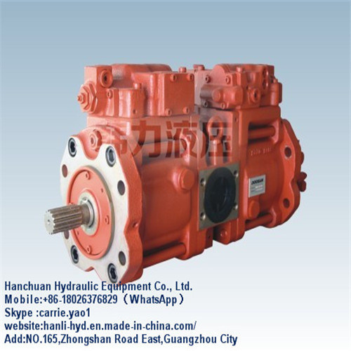 (K5V80DT) China Kawasaki Hydraulic Fuel Piston Pump for Volvo Excavator