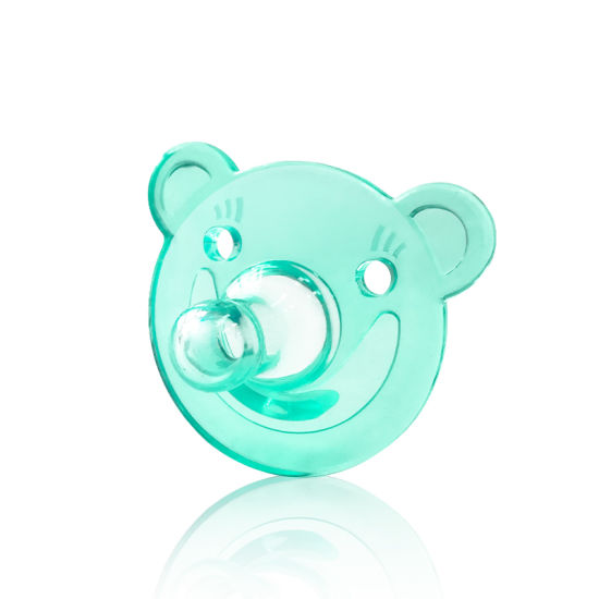 Baby Soother Silicone Pacifier Cute Bear Nipple Orthodontic Infants Newborn Care