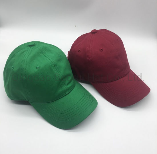 High Quality 100% Cotton Unstructured Blank Baseball Hat Sport Caps pictures & photos