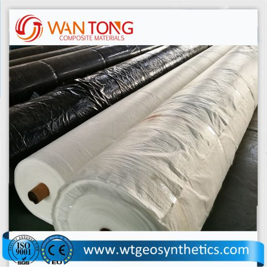 Road Construction 350GSM Non Woven Geotextile Fabric for Embankment  Reinforcement
