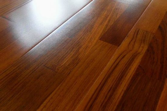 China 3 Strips Reclaimed Solid Teak Wood Flooring China Solid Teak