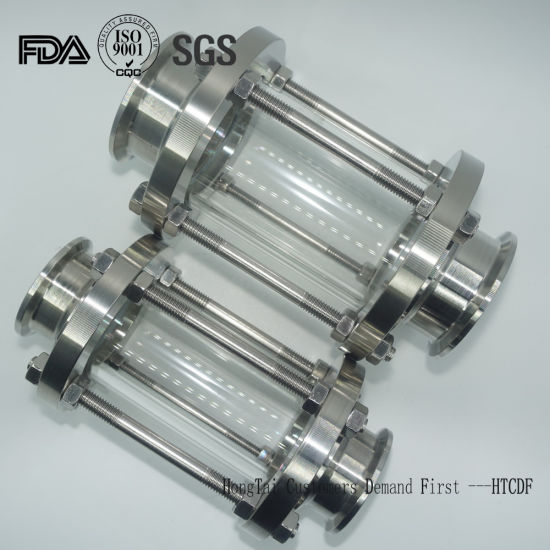 Stainless Steel Hygiennic Food Grade Pipeline Sight Glass