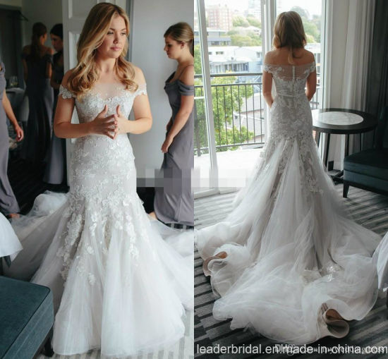 e9dc81770e1f8 Mermaid Bridal Gowns off Shoulder Lace Wedding Dresses H3002 pictures &  photos
