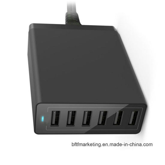 6 Ports 10A USB Home Charger Multiple USB pictures & photos