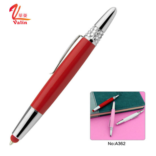 Festival Gift Lady Metal Stylus Pen Promotional Ball Pen on Sell pictures & photos