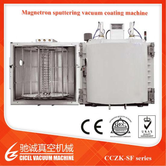 Disposable Plastic Silver Spoon/Fork PVD Coating Machine/Plastic Cutlery Vacuum Metallizing Plant/Vacuum Coating Plant