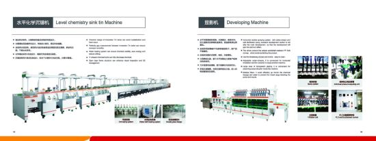 PCB Wet Process Machine Conveyor Developer PCB Developing Machine pictures & photos