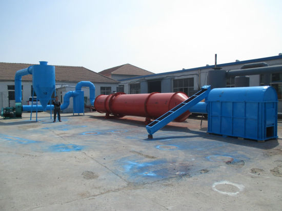 China Manufacturer Professional Ce Rotary Drum Drying Machine