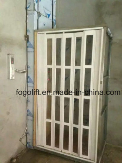 China hot sale home elevator vertical wheelchair lift for Small elevator for house