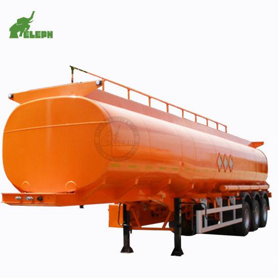 3 Axles 50000L Liquid Fuel Storage Truck Semi Fuel Tanker Trailer Dimensions (By Need)