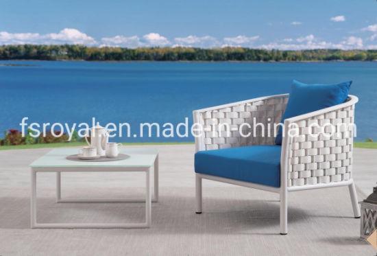 Eco-Friendly Outdoor Garden Furniture Aluminum Leisure Chair Patio Sofa Set