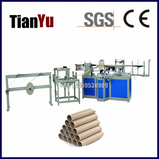 High Speed Automatic Toilet Paper Cores Nonwoven Fabric Roll Adhesive Tapes and Label Thermal Papertubes Making Machine