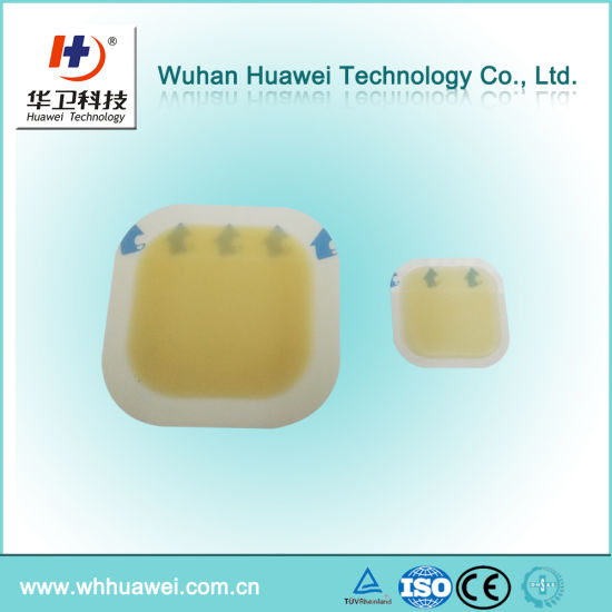 New Arrival Sterile Burn and Wound Care Hydrocolloid Dressing