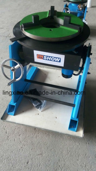 Ce Certified Welding Turntable HD-10/30/50/100/200/300/600 for Circular Welding pictures & photos