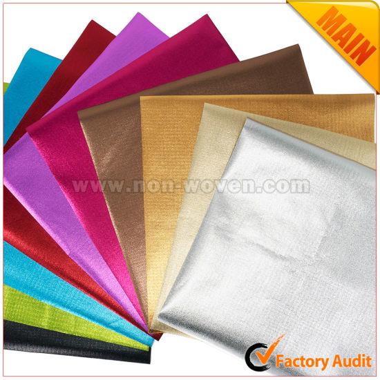 Shiny Metallic Laminated Nonwoven Fabric