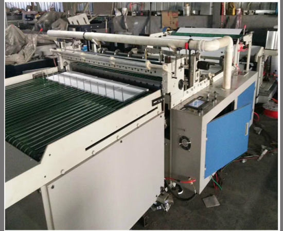 A1-A4 Size Paper Roll or Plastic Film Sheets Cutting Machine (DC-HQ1200) pictures & photos
