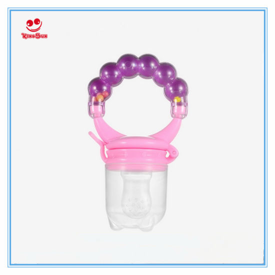 China New Design Baby Food Dispenser with Teething Ring - China Food ... 5aed57d17