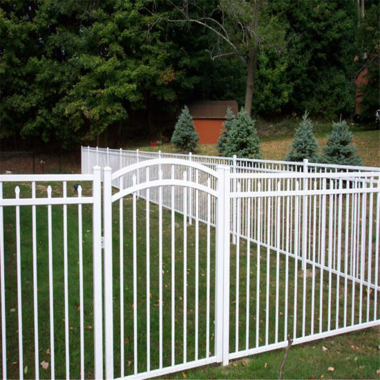 Direct Factory Cheap Price Galvanized Wrought Iron Fence Designs