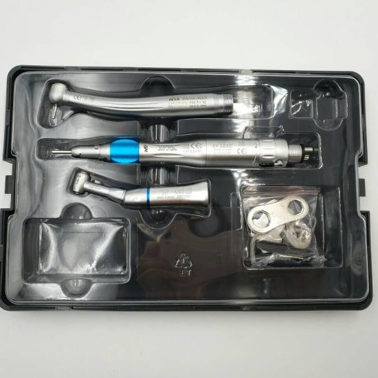 NSK High Low Speed Dental Handpiece Set Air Motor Straight Handpiece Contra Angle
