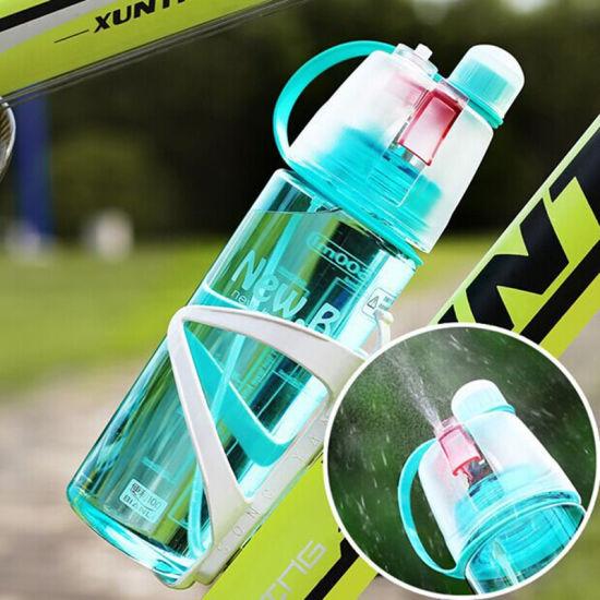 Creative Spray Sport Water Bottle Cycling Fruit Juice Shaker