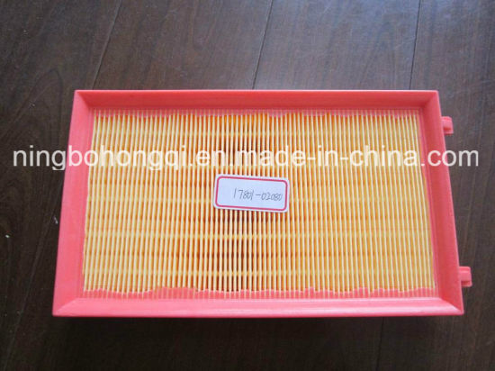Air Filter 17801-02080 for Toyota pictures & photos