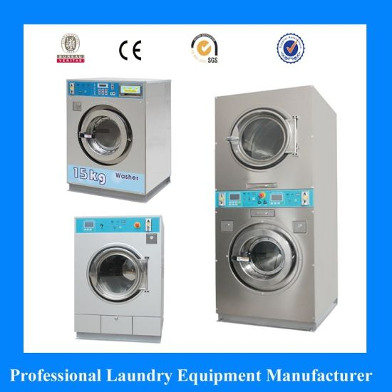 Commercial Washing Machine for Self-Service Laundromat Coin Operated Available