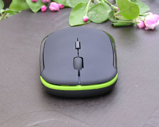 Ultra-Thin 2.4G Computer Wireless Mouse with Nano Very Fine Receiver pictures & photos