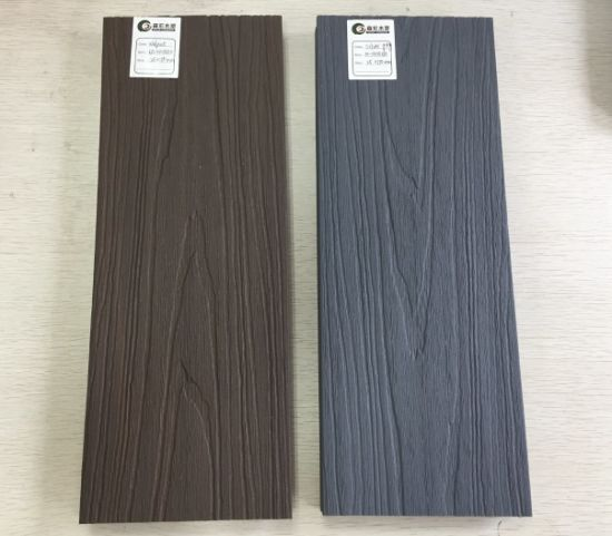 Factory Wholesale Outdoor Co Extrusion WPC Wood Plastic Composite Decking