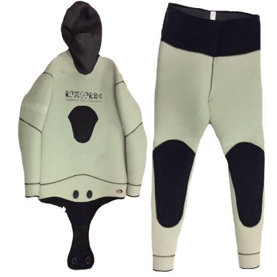2540cdcc6d90b China Men′s Neoprene Two Piece Wetsuit Swimwear Sports Wear (HX ...