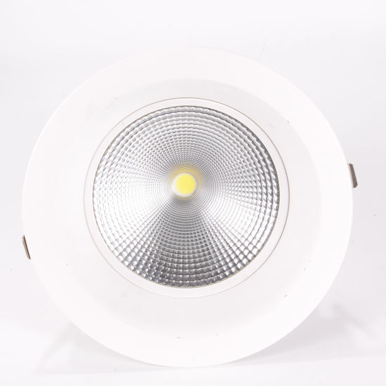 100lm/W Ugr<19 Gimbal 6inch COB LED Down Light 30 W with 3 Warranty Years pictures & photos